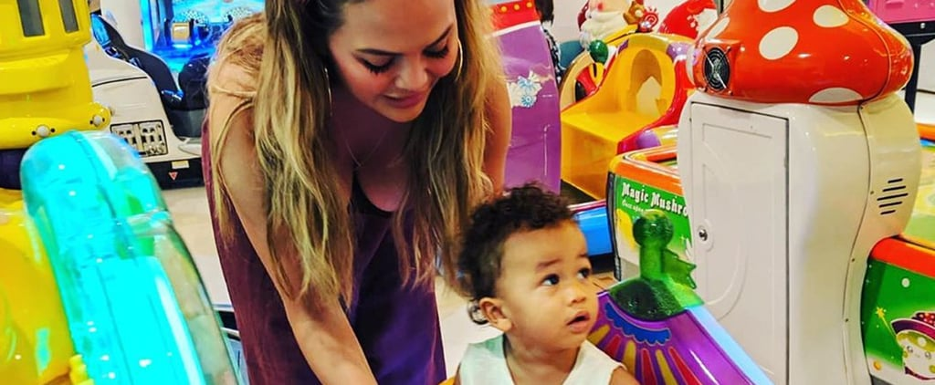 Chrissy Teigen Opened Up About Having Help as a Mom of 2