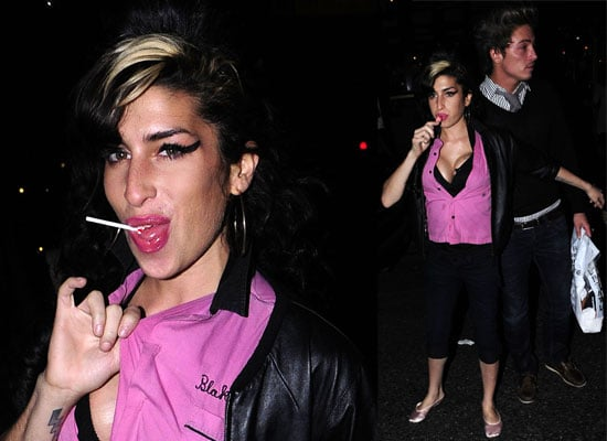 Gallery of Photos of Amy Winehouse and Tyler James out in London