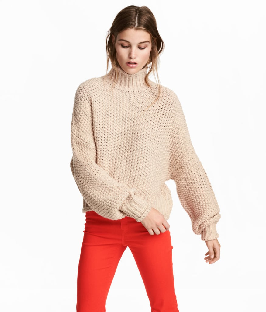 H&M Chunky-Knit Sweater | Fall Sweaters H&M 2017 | POPSUGAR ...