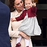 Princess Charlotte Facial Expressions Photos