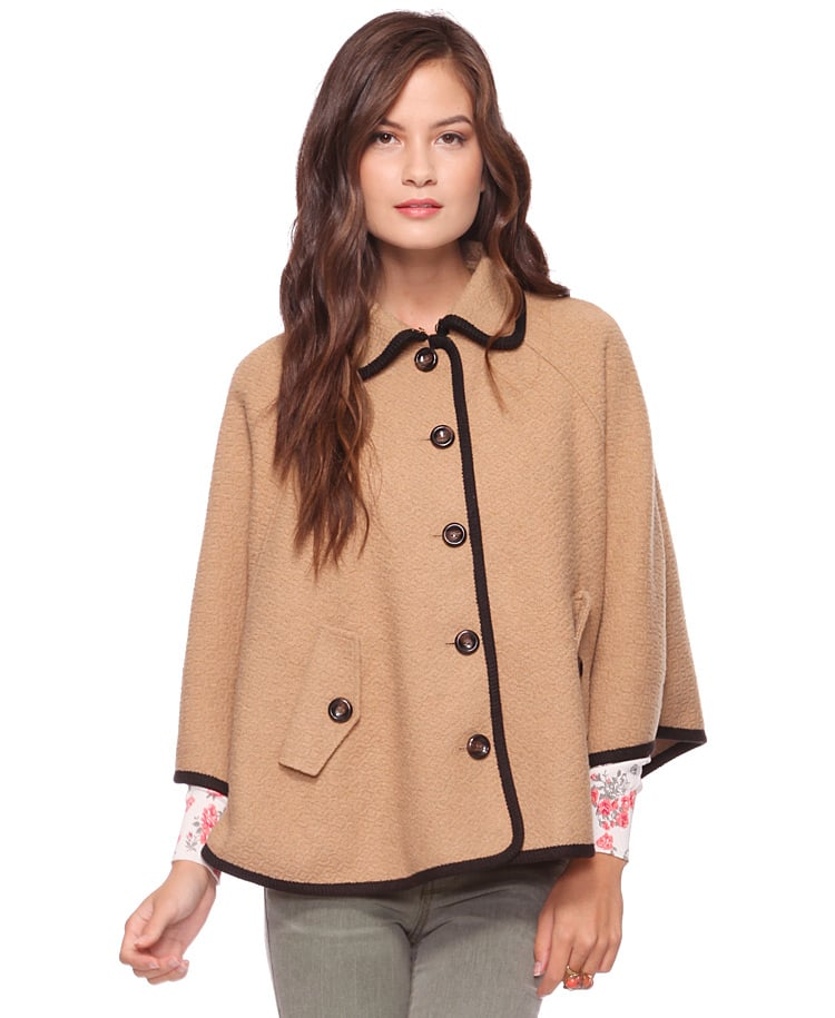 We can't seem to get the image of a cool Grace Kelly out of our minds every time we spot this Forever 21 Classic Cape Coat ($38). Consider this an easy way to add a sophisticated top layer to your look, and if it seems a little too refined, offset the look with a pair of retro high-top kicks.