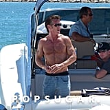 Sean Penn Goes Shirtless in Spain — and We're Not Hating It