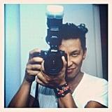 Prabal Gurung tried his hand at photography.  Source: Twitter User PrabalGurung