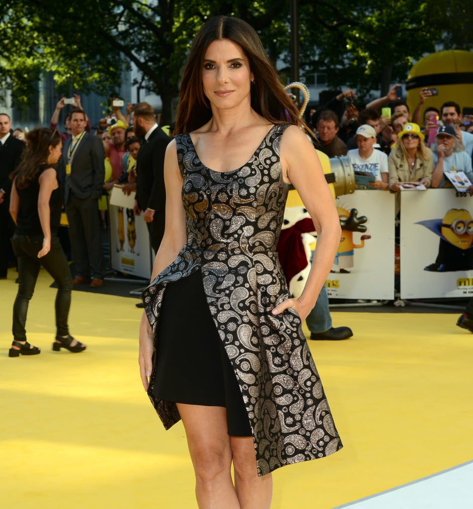 Sandra Bullock in Stella McCartney at the Minions Premiere