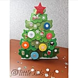 Soft Developing Books Decorate the Christmas Tree