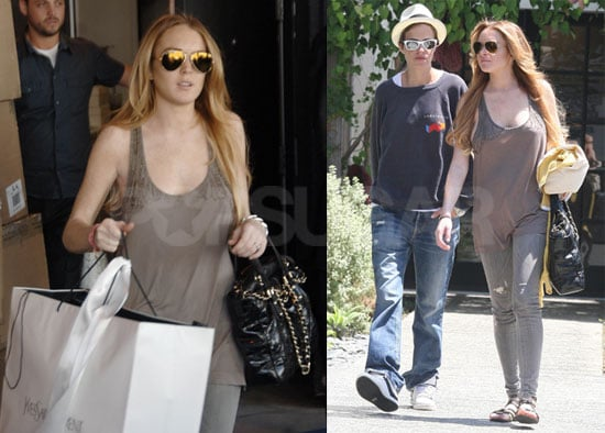 Photos of Lindsay Lohan Shopping in LA 2008-08-21 07:05:00