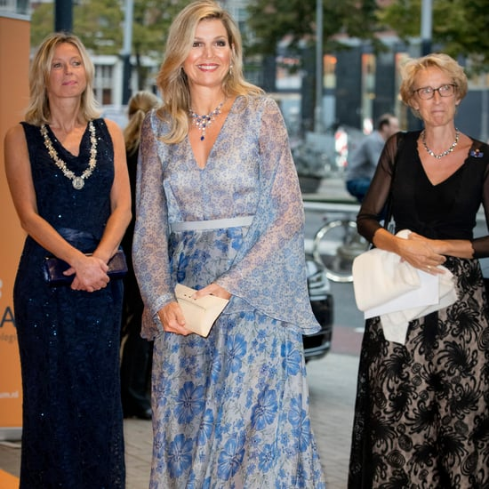Queen Maxima's Luisa Beccaria Dress September 2017