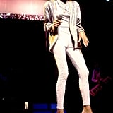 Whitney took the stage in Chicago in 1986.