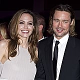 Brad Pitt kicked off his 2012 award season run at the Palm Spring Film Festival in January.