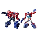 Transformers Deluxe Class Optimus Prime Autobot Legacy 2-Pack