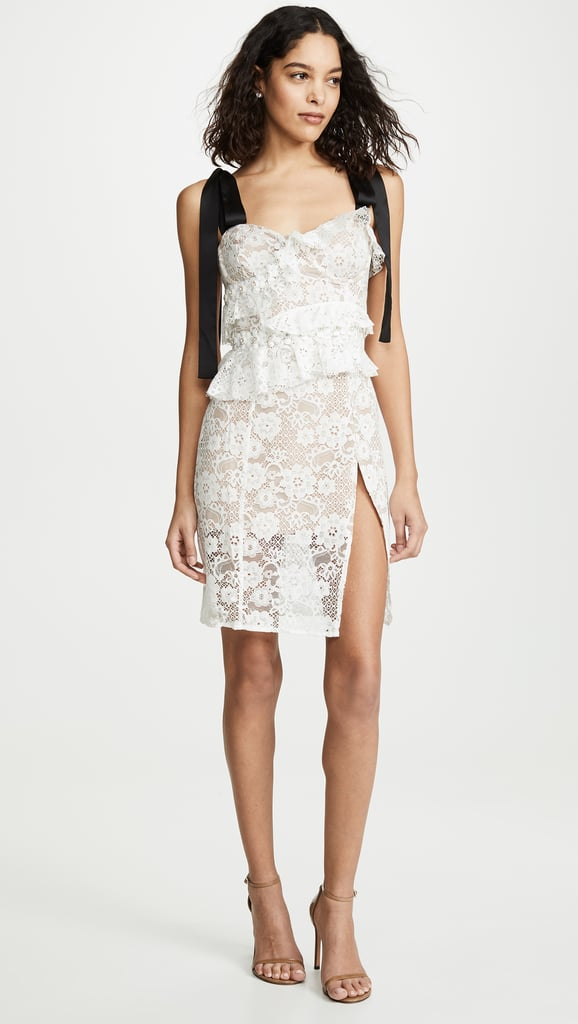 For Love & Lemons Fabienne Midi Dress