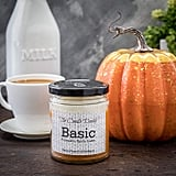 Basic Pumpkin Spice Latte Fall Candle