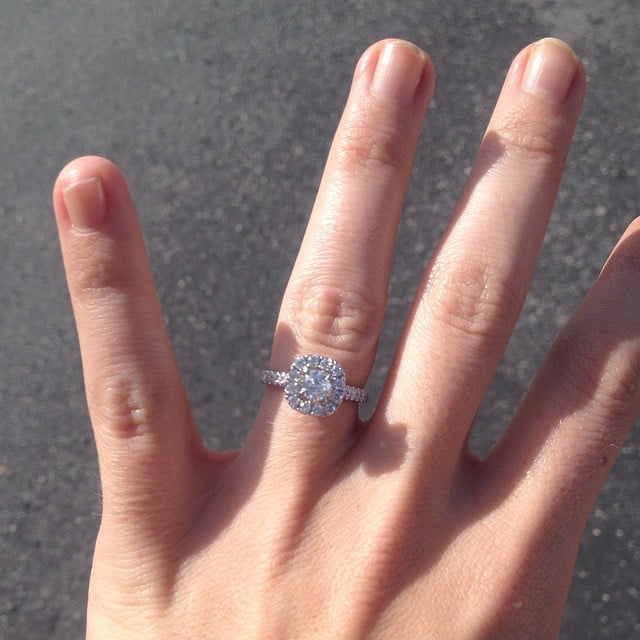 engagement ring inspiration popsugar love sex - Girl Wedding Rings
