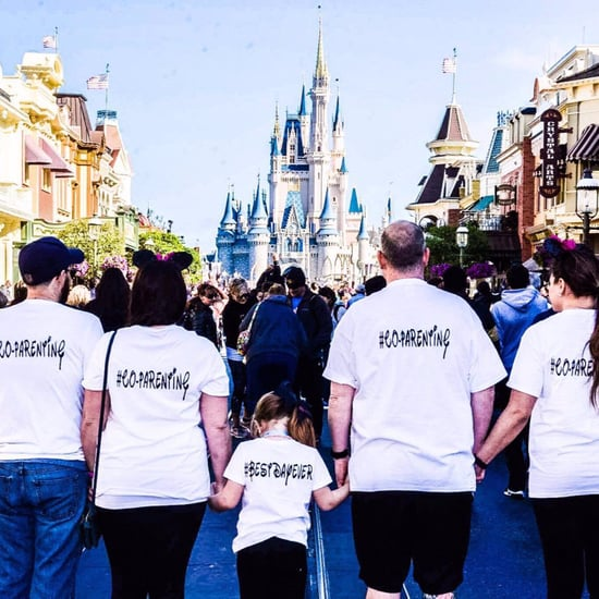 Co-Parenting at Disney Photos