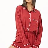 Night Shirt and Shorts PJ Set