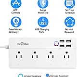 Smart Power Strip, Wifi Surge Protector