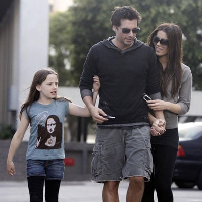 Kate Beckinsale, Len Wiseman and Lily Sheen Out in LA