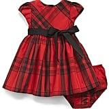 Ralph Lauren Plaid Taffeta Dress