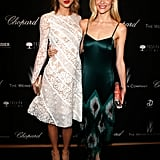 Taylor Swift and Jaime King at The Weinstein Company's Academy Awards Party