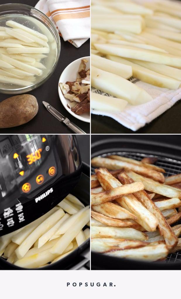 كيفية تحضير البطاطا المقلية بالمقلاة الهوائية