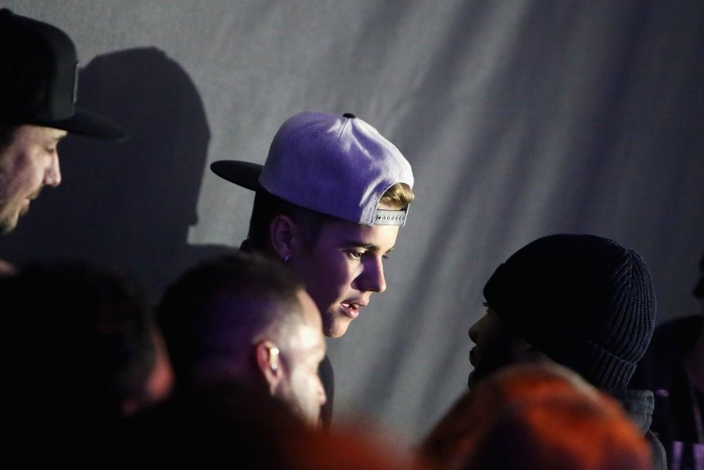 Justin Bieber Maximizes the Fun at Pre-Super Bowl Bash