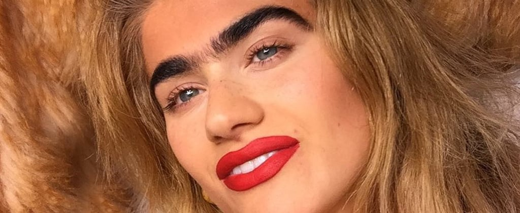 Model With Unibrow