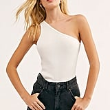 Lacausa One-Shoulder Washed Tank