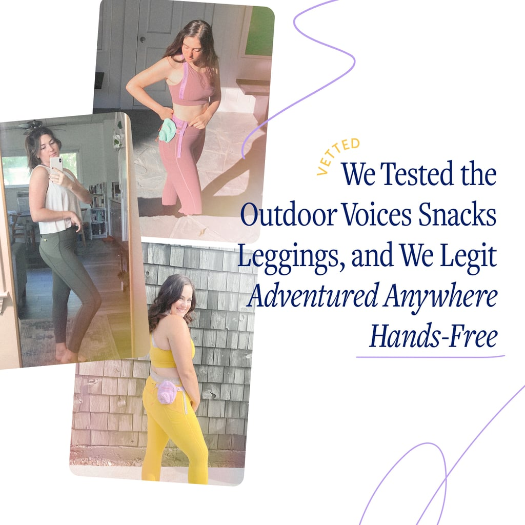 Outdoor Voices Snacks Leggings   Editor Review 2021