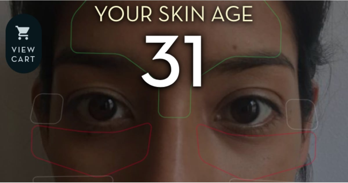 I Tried an Artificial Intelligence Skin Age Predictor — Here's How It Changed My Routine