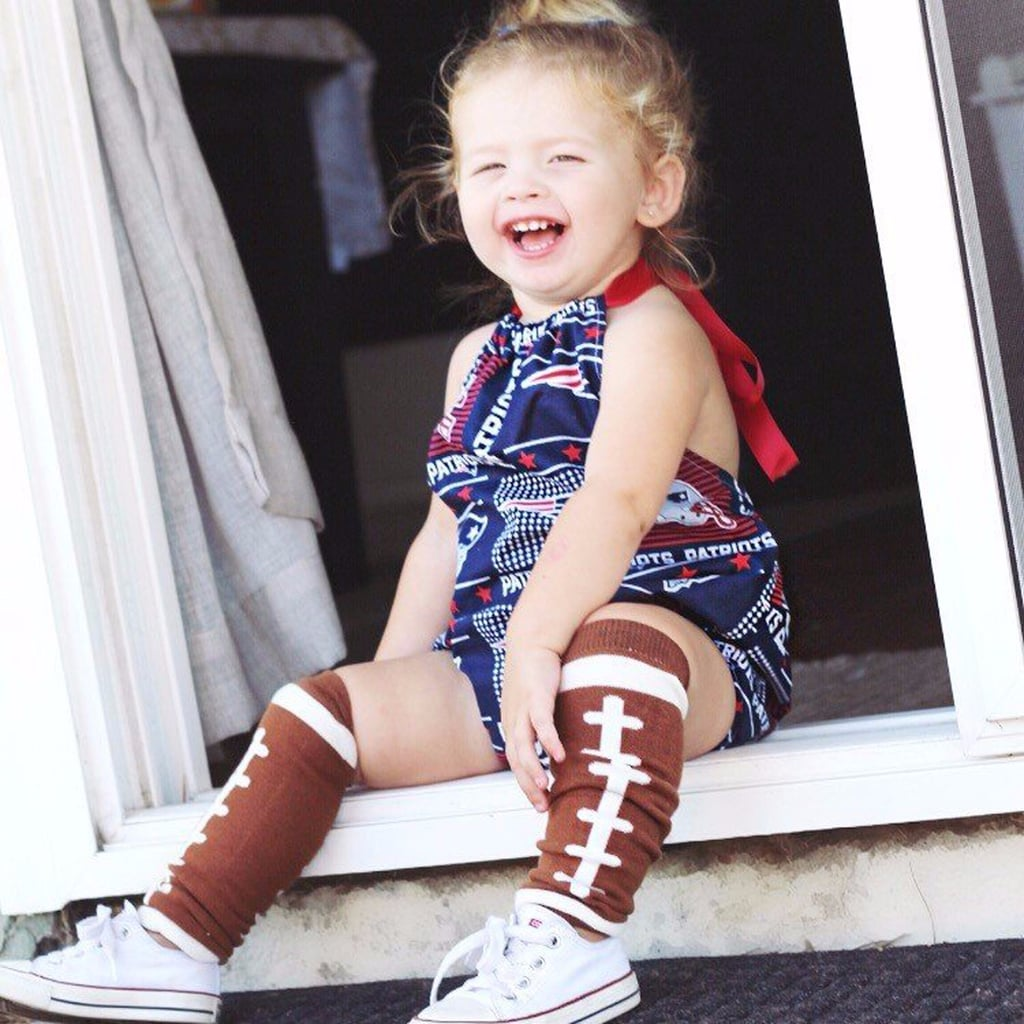 Patriots and Falcons Super Bowl Gear For Kids