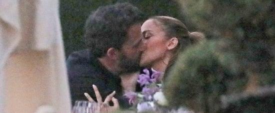 Jennifer Lopez and Ben Affleck Kissing in Malibu | Pictures
