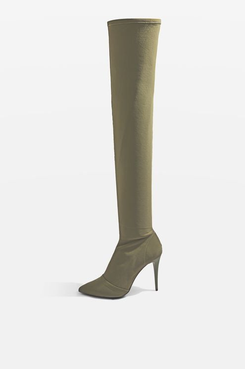 f429ecad47c Topshop Bubba Boots | Best Over-the-Knee Boots | POPSUGAR Fashion ...
