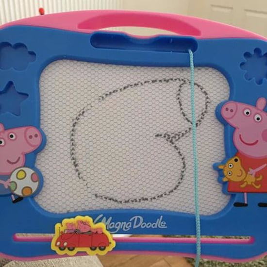 Mom Teaches Her Daughter How to Draw Peppa Pig