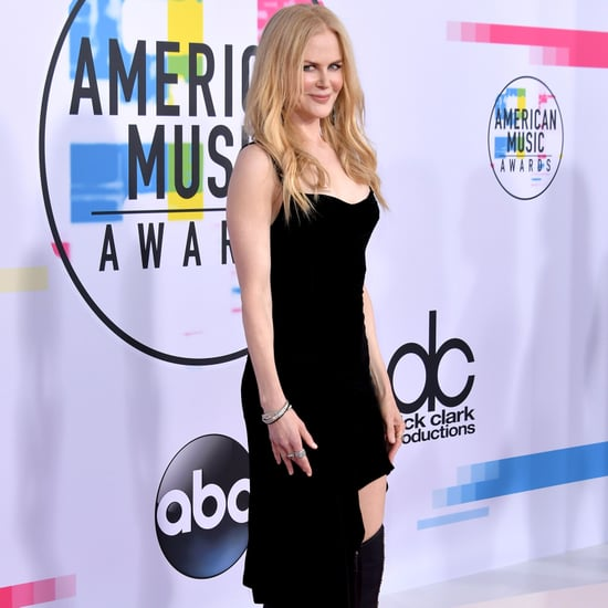 Boots on the Red Carpet at the American Music Awards 2017