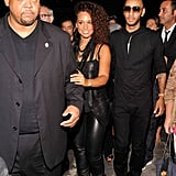 Alicia Keys and Swizz Beatz leave Alexander Wang.
