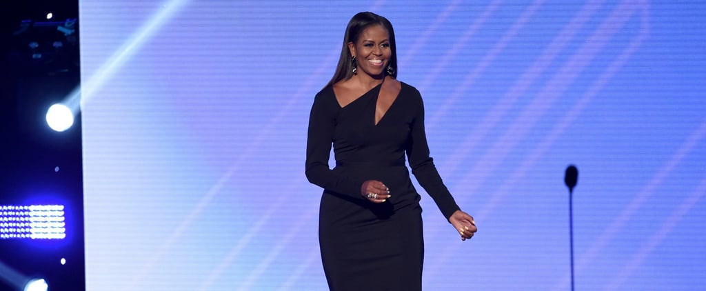 Michelle Obama Made the Appearance You've Been Waiting For in a Dress You Won't Forget