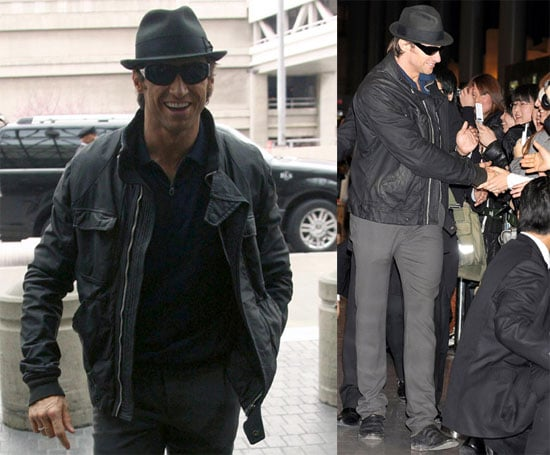 Photos of Hugh Jackman at LAX and Narita Airport, Quotes From Oprah Winfrey Special