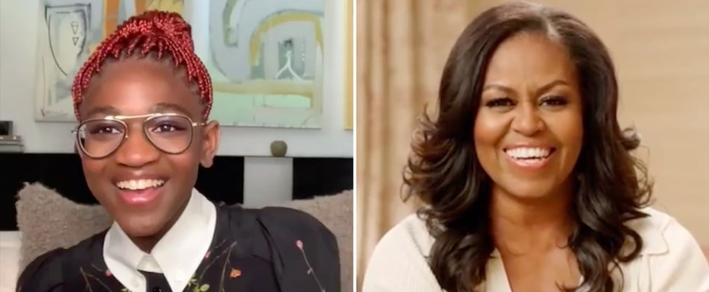 Watch Zaya Wade's Adorable Q&A With Michelle Obama | Video