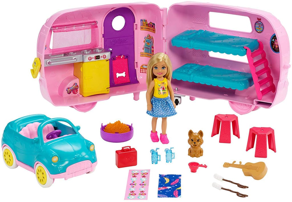 Barbie Club Chelsea Camper and Accessories