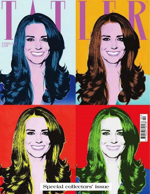 Kate Middleton on the Cover of Tatler for February 2011 2011-01-05 05:56:35