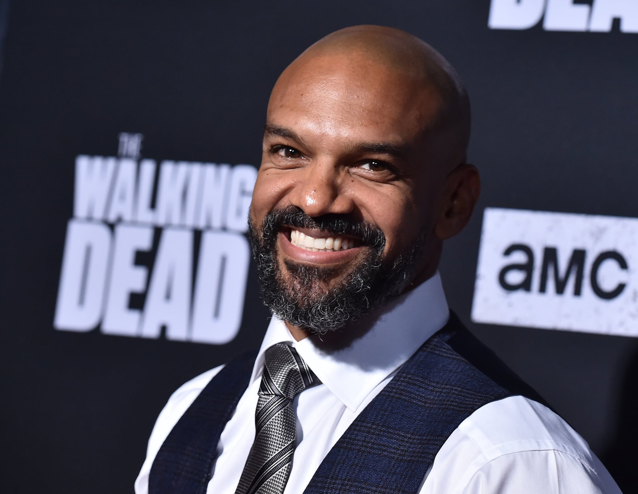 US actor Khary Payton attends the Season 10 Premiere of 'The Walking Dead' at Chinese Theatre in Hollywood, California, on September 23, 2019. (Photo by LISA O'CONNOR / AFP)        (Photo credit should read LISA O'CONNOR/AFP via Getty Images)