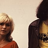 Joey Ramone and Debbie Harry