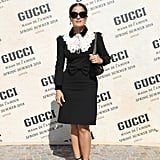 September at the Gucci Show in Milan