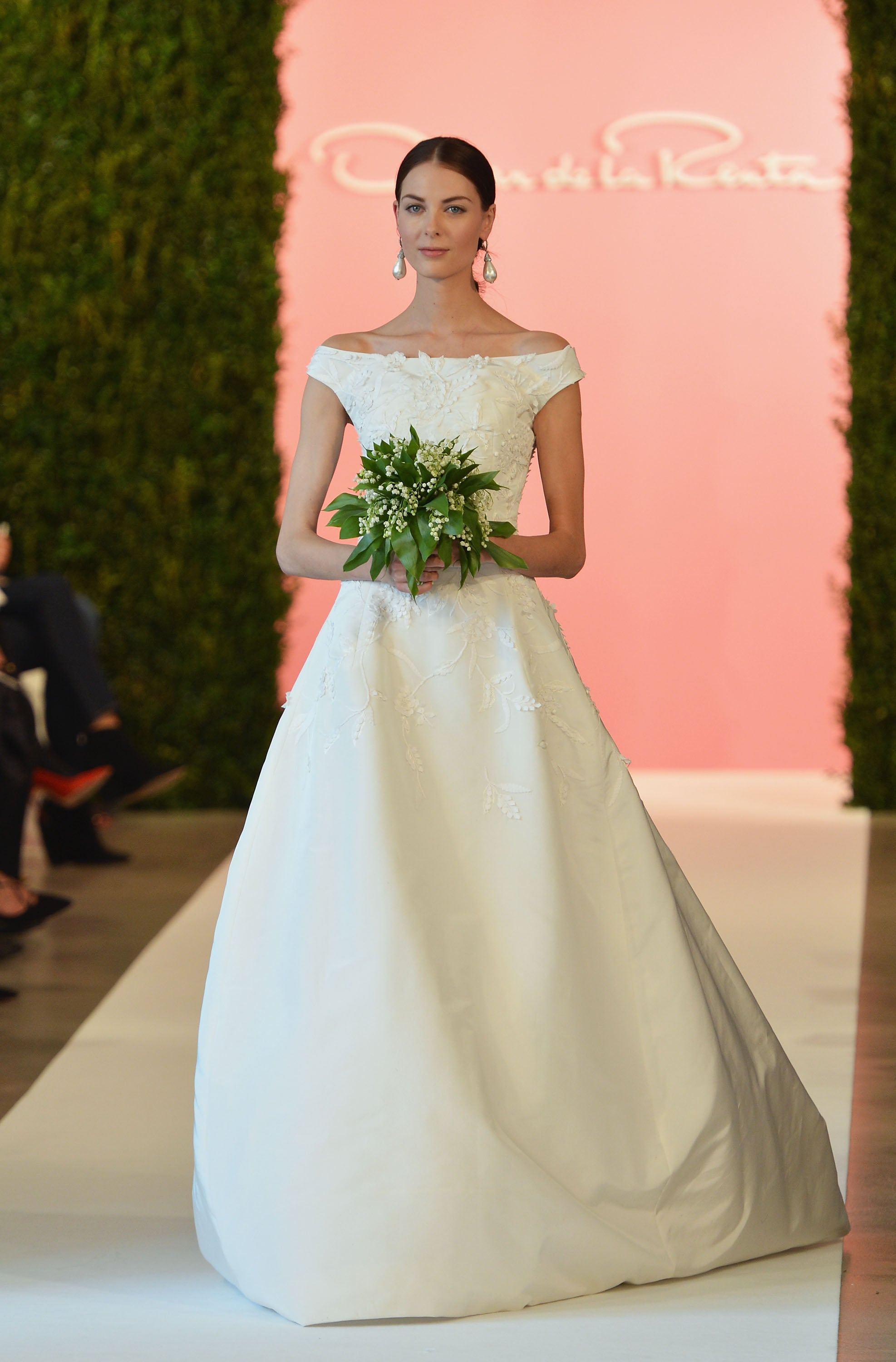 Oscar de la renta bridal spring 2015 there was something for Where to buy oscar de la renta wedding dress
