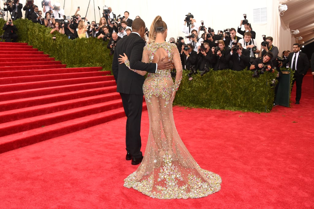 The couple walked the red carpet together at the Met Gala in May 2015.
