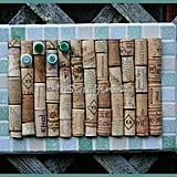 Green Wine Corkboard