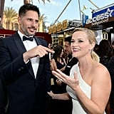 Joe Manganiello had Reese Witherspoon laughing before the show.