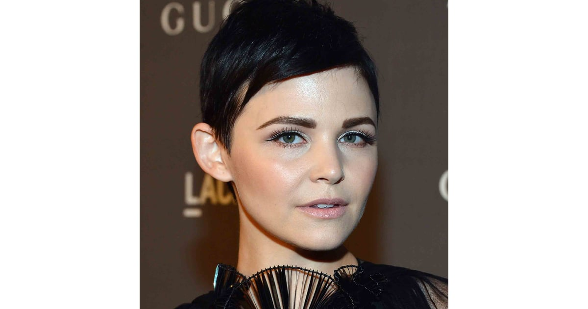 Picture Of Ginnifer Goodwins Strong Eyebrows At The Lacma