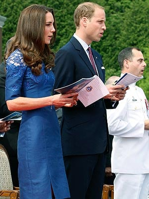 William & Kate Say a Prayer for the Queen, Inspire Youth in Quebec City