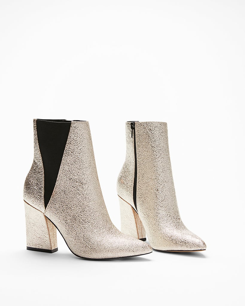 Express Metallic Boots